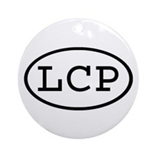 LCP Oval Ornament (Round)