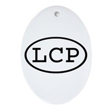 LCP Oval Oval Ornament