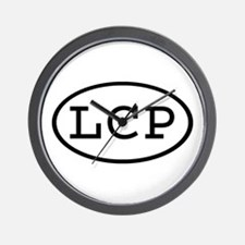 LCP Oval Wall Clock