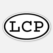 LCP Oval Oval Decal