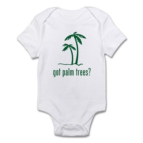 Palm Trees Infant Bodysuit