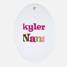 Skyler's Nana  Oval Ornament