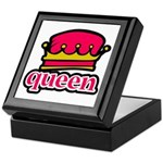 Funky Queen Crown Keepsake Box