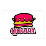 Funky Queen Crown Postcards (Package of 8)