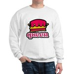 Funky Queen Crown Sweatshirt