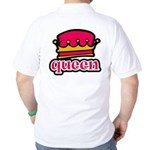 Funky Queen Crown Golf Shirt
