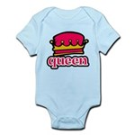 Funky Queen Crown Infant Bodysuit