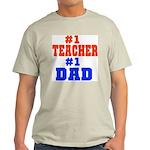 Teacher Father Ash Grey T-Shirt
