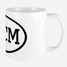 LCM Oval Mug