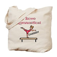 I Love Gymnastics (Cassidy) Tote Bag