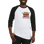 Funky King Crown Baseball Jersey