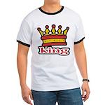 Funky King Crown Ringer T