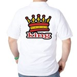 Funky King Crown Golf Shirt