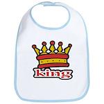 Funky King Crown Bib