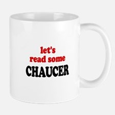Let's Read Chaucer Small Small Mug