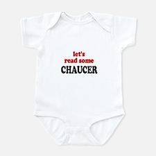 Let's Read Chaucer Infant Bodysuit