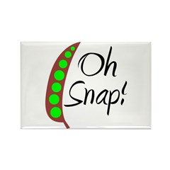 Oh Snap! Rectangle Magnet (100 pack)