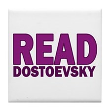 Dostoevsky Tile Coaster