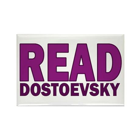 Dostoevsky Rectangle Magnet