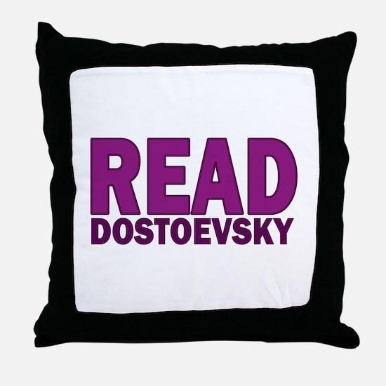 Dostoevsky Throw Pillow