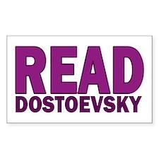 Dostoevsky Rectangle Decal