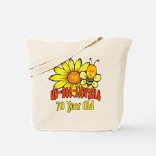 Un-Bee-Lievable 70th Tote Bag