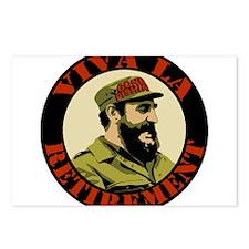 Castro Viva La Retirement Postcards (Package of 8)