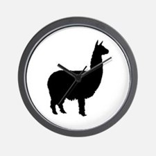 alpaca Wall Clock