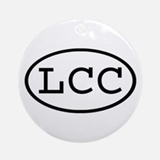 LCC Oval Ornament (Round)