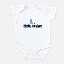 Wells Maine Infant Bodysuit