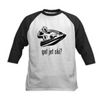 Jet Ski Kids Baseball Jersey