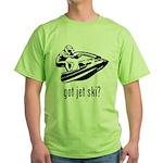 Jet Ski Green T-Shirt