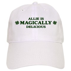 Allie is delicious Baseball Cap
