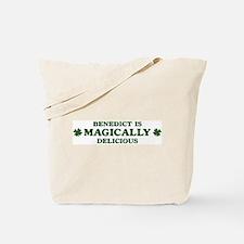 Benedict is delicious Tote Bag