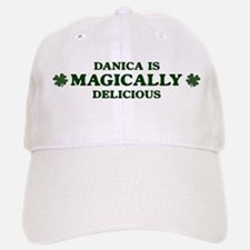 Danica is delicious Baseball Baseball Cap