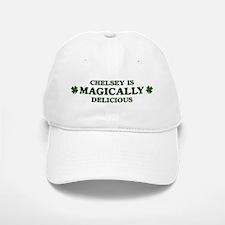 Chelsey is delicious Baseball Baseball Cap