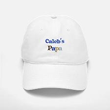 Caleb's Papa Baseball Baseball Cap