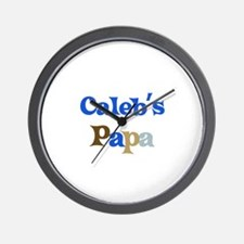 Caleb's Papa Wall Clock