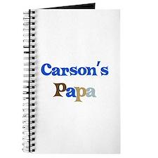 Carson's Papa Journal