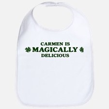 Carmen is delicious Bib