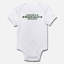 Genevieve is delicious Infant Bodysuit