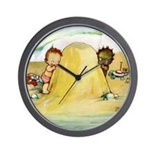 WHY CAN'T WE BE FRIENDS Wall Clock