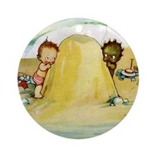 WHY CAN'T WE BE FRIENDS Ornament (Round)