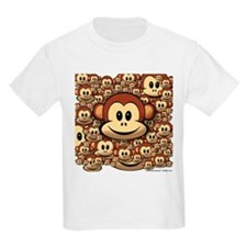 Lucky Monkey Kids T-Shirt