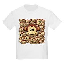 Lucky Monkey Kids T-Shirt