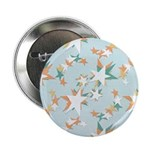 "Funky Vintage Stars 2.25"" Button (100 pack)"