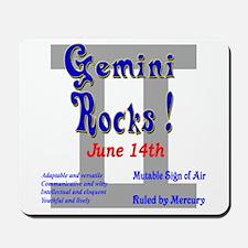 Gemini June 14th Mousepad