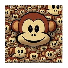 Lucky Monkey Tile Coaster