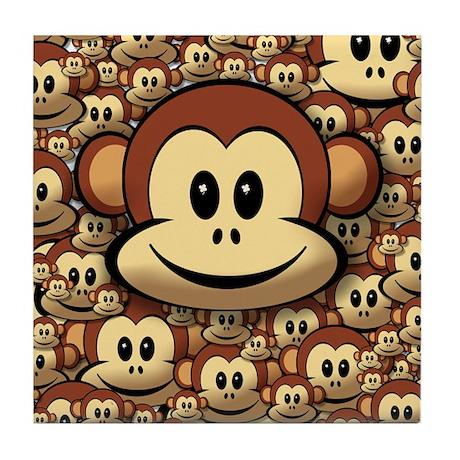 Lucky Monkey Tile Coaster