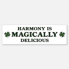 Harmony is delicious Bumper Bumper Bumper Sticker